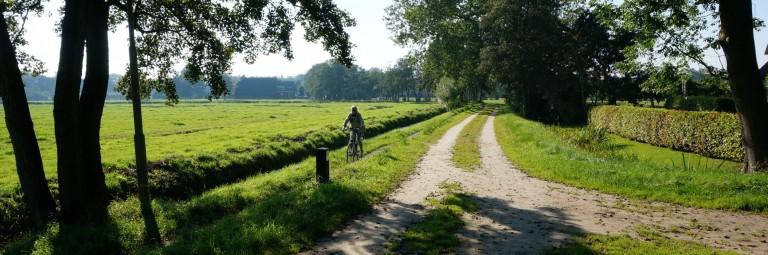 Essen, een landelijke buurtschap tussen Haren en Groningen.
